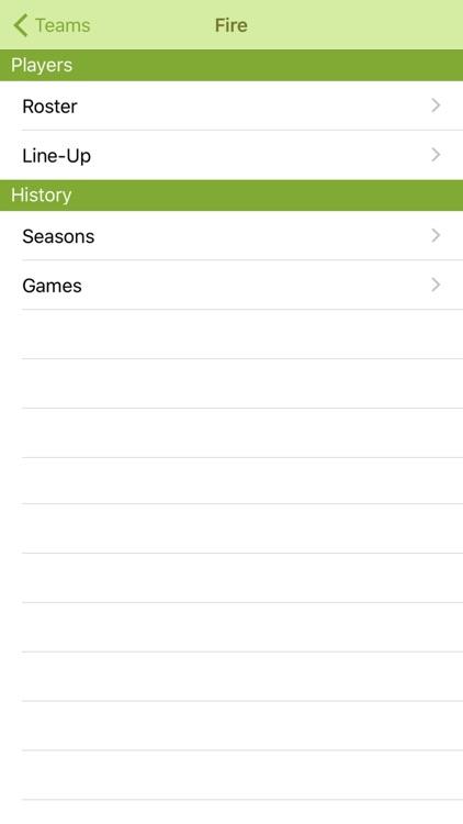 Easy Stats - Soccer screenshot-4