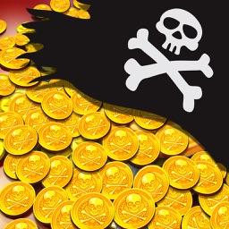 Pirate King Coin Dozer Golden Coins Treasure Game