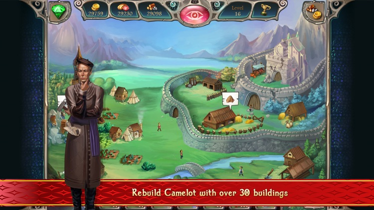 Avalon Legends Solitaire 2 screenshot-1