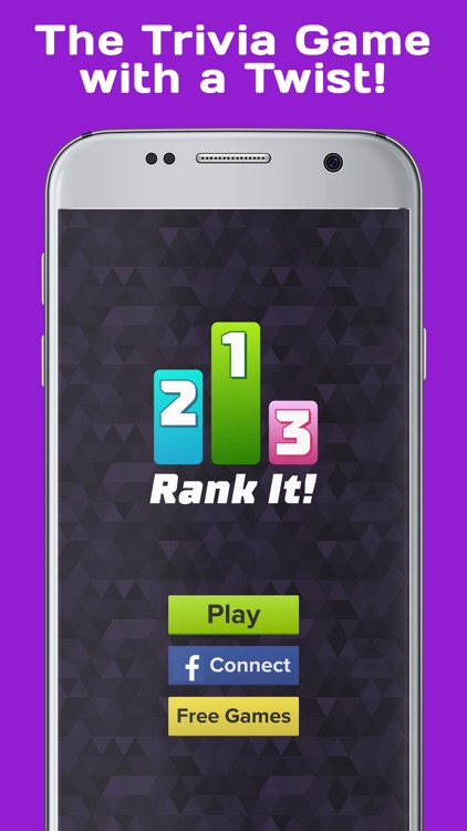 Rank It Trivia - Brain Challenge Pursuit
