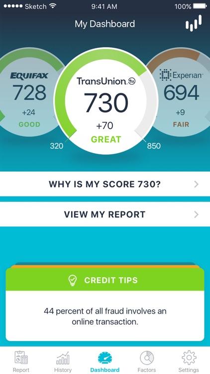 ScoreSense Scores To Go™ - Credit Scores & Reports