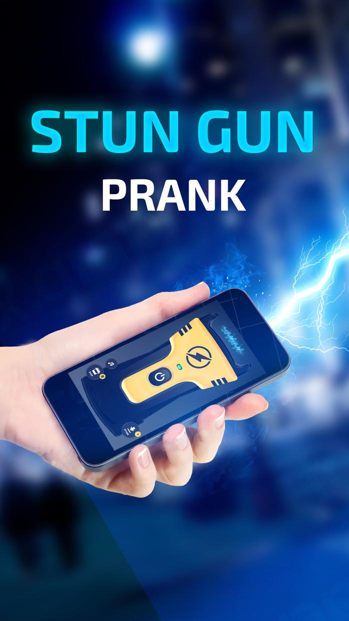 Prank Stun Gun App - Real Sound and Vibration! Screenshot