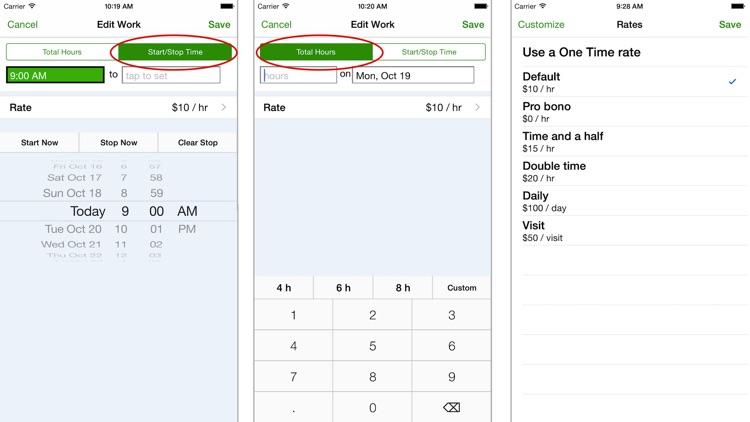 TimeTracker - Time Tracking screenshot-3