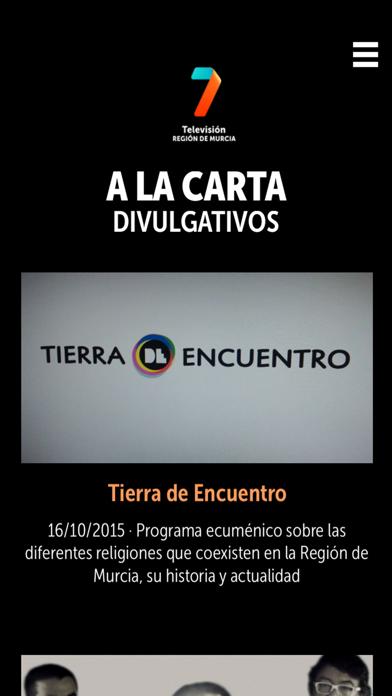 7TV PLAYER Región de MurciaCaptura de pantalla de1