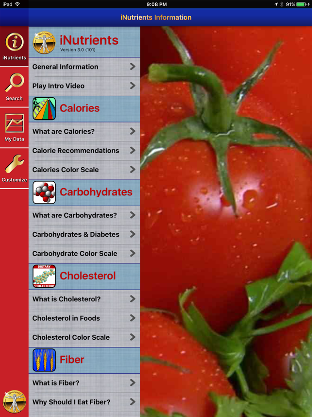 iNutrients: Imagine the Entire USDA Nutrient Database on Your iOS Device Image
