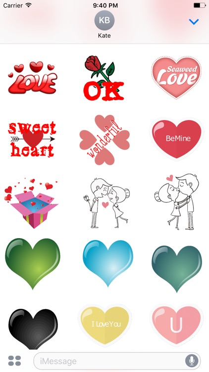 Romantic Stickers screenshot-0