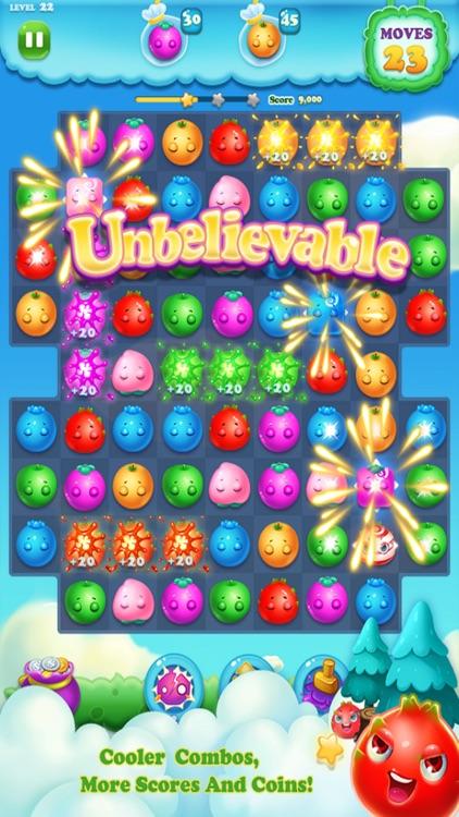 Fruits Garden Match 3 Diamond FREE - Bigo Version screenshot-3
