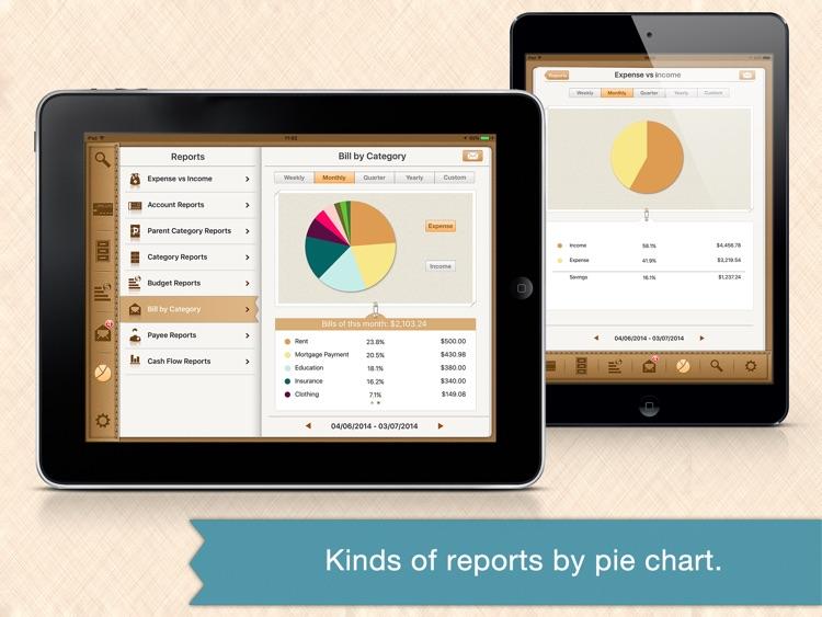 Money Monitor for iPad - Budget & Bill Management screenshot-3