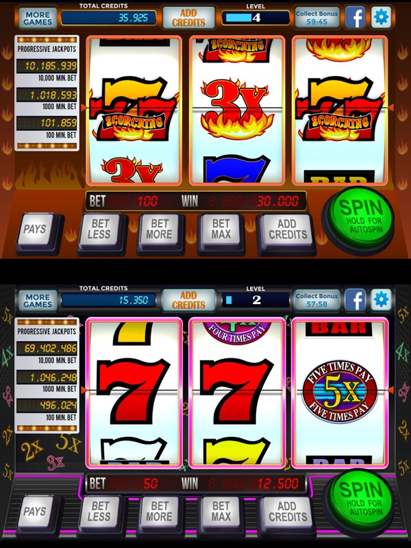 777 Slots Casino 3 Reel Classic Slot Machines Online Game Hack