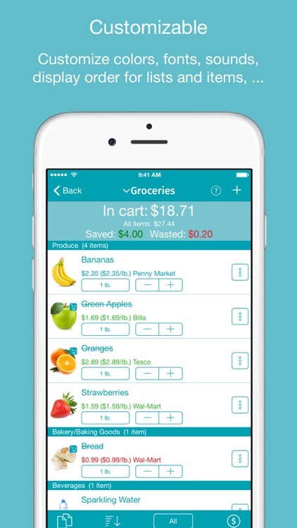 IntelliList - Grocery Shopping List & Price Book screenshot-3