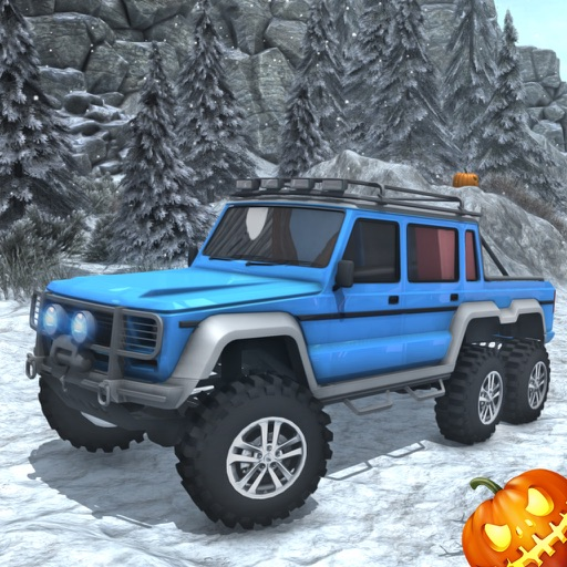 Снег симулятор вождения - от дороги 6 x 6 грузовик