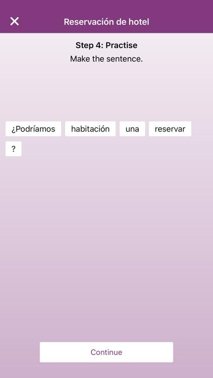 Phrasebook & Vocabulary - English, Spanish, German screenshot-3