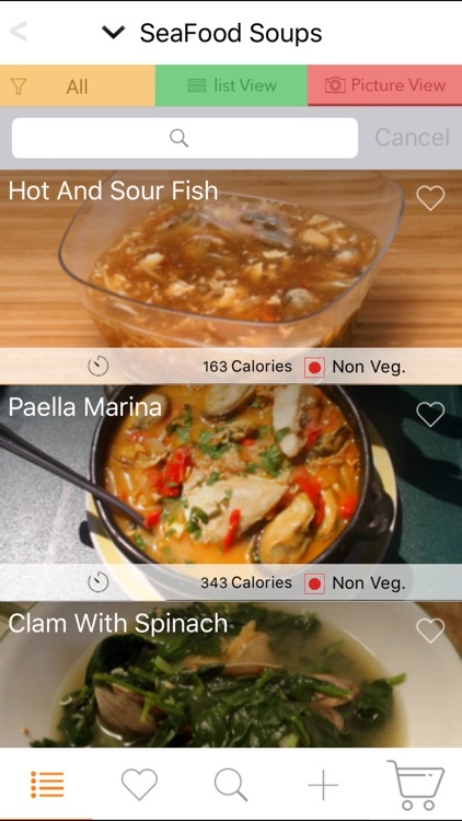 200 Soup Recipes - Vegetable, Chicken, Seafood screenshot-3