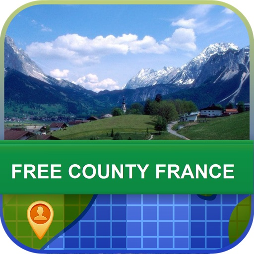 Offline Free County France Map - World Offline Maps icon
