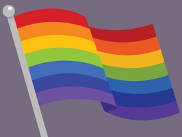Celebrate our pride with these fully animated stickers