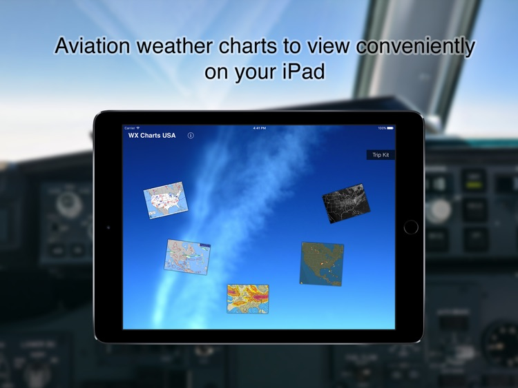 WX Charts USA - Aviation Weather Charts For USA screenshot-0