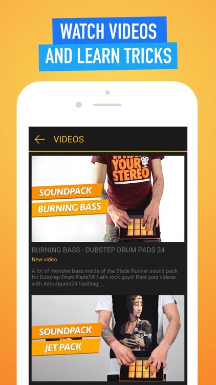 Dubstep Drum Pads 24 - Make Beats And Music! screenshot-4