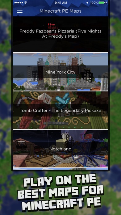 Maps for Minecraft PE (Map Installer) app image
