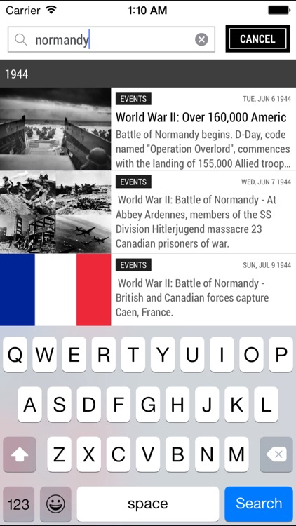 Today In History Lite Edition screenshot-4