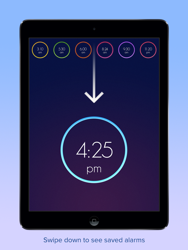Wake Alarm Clock Screenshot