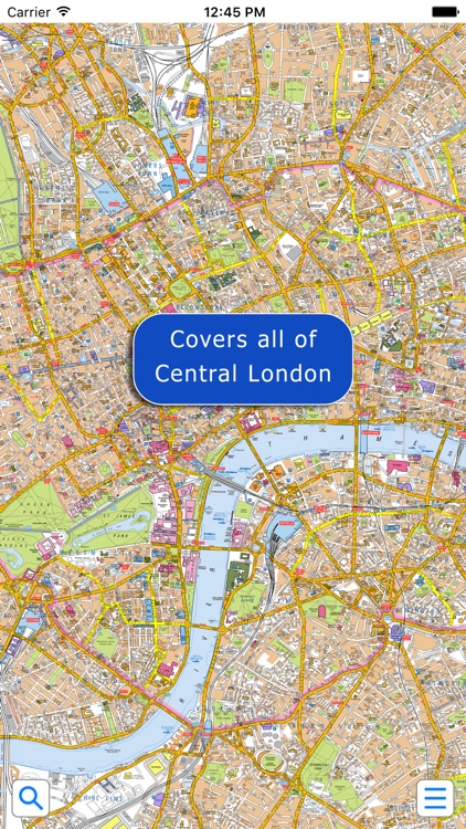 London Super Scale A-Z Street Map