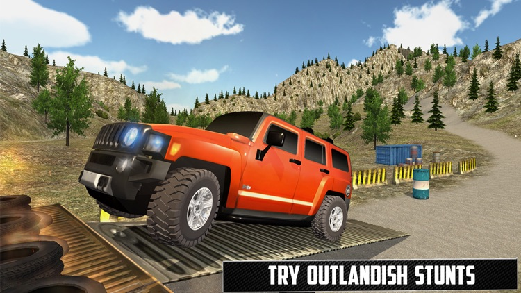 Offraod Hummer Jeep GT Racing Stunts
