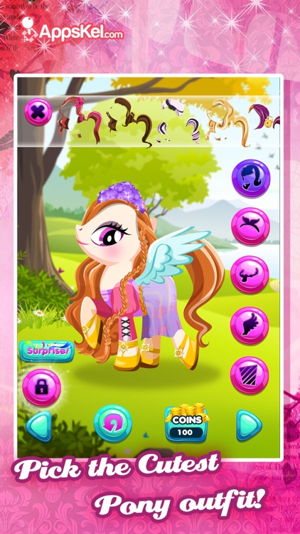 My High Pony Magic Creator- Dress Up Game for Free screenshot-2