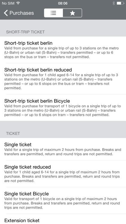BVG FahrInfo Plus Berlin screenshot-4