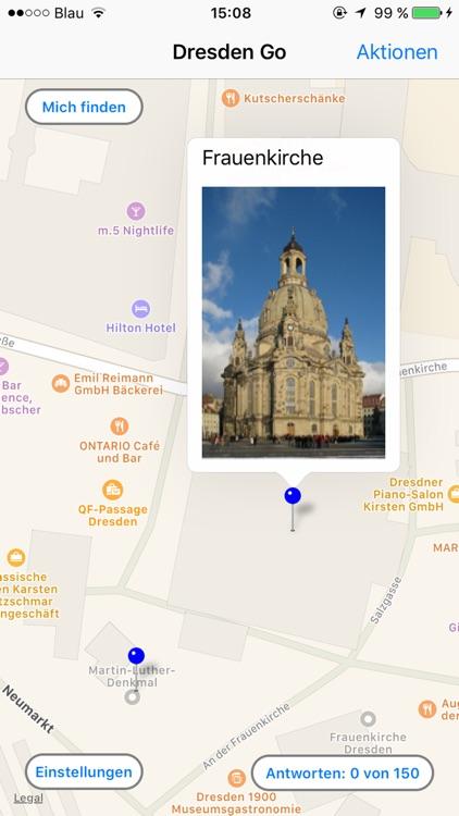Dresden Go - Reiseführer und Quiz App