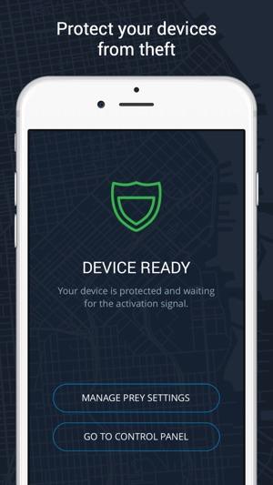 Prey Find my Phone Tracker GPS Screenshot