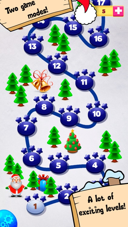 Bubble Shooter Christmas Balls screenshot-3