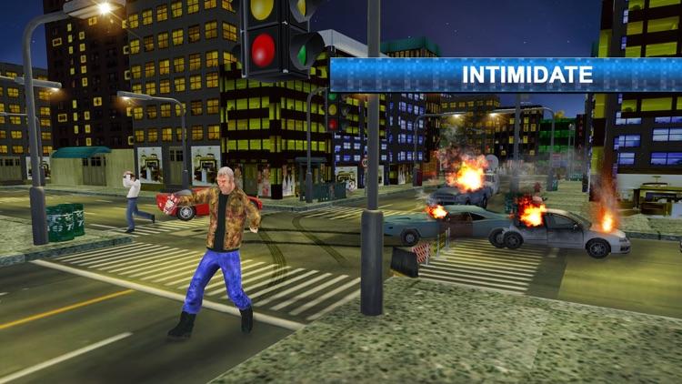 Crime fighter crazy grandpa 2 : Terrorist crime screenshot-3
