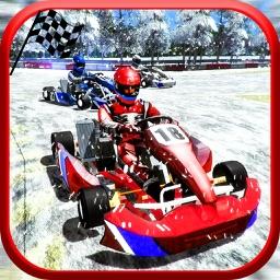 Buggy Nitro Race Snow Rally-Extreme Kart Racing