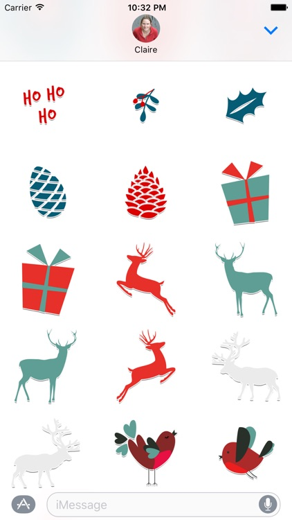 Christmas Stickers for iMessage screenshot-4