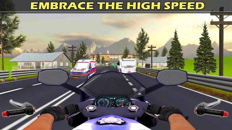 City Bike Drive : 3D Highway Ride 2016