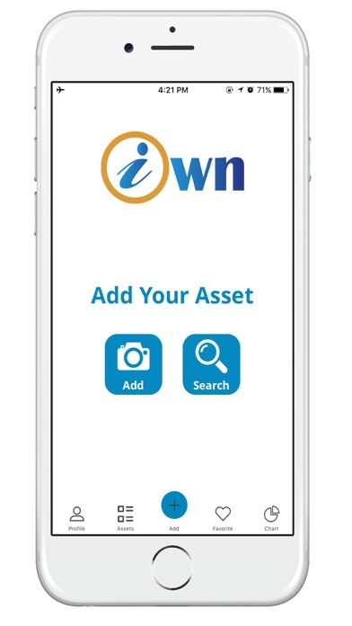 iOwnAssets - Manage your assets easily screenshot one