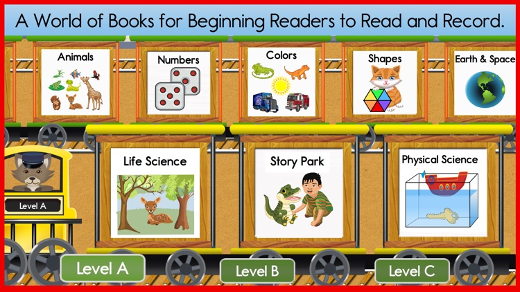 Reading Train Starter Books, Songs & Quizzes screenshot-0
