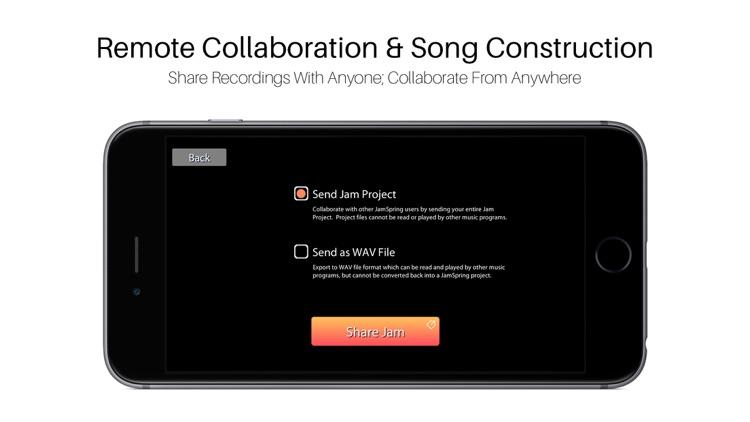 JamSpring | Songwriting | Guitar | Collaboration screenshot-3