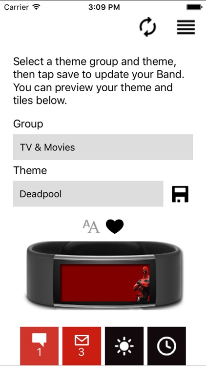 fanband screenshot-1