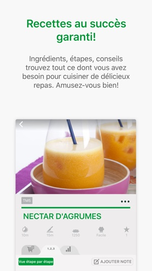 Thermomix® Cookidoo® dans l'App Store  Thermomix® ...
