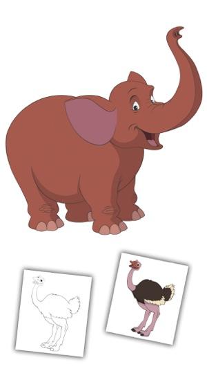 Hayvanlar Boyama Kitabı Boyama Sayfaları Oyunları App Storeda