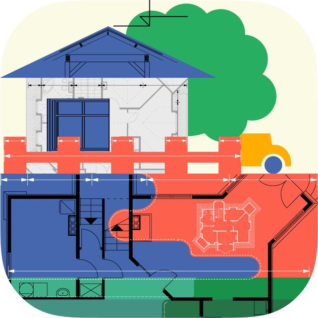 Home design pro interior design floor plan cad on the for Professional home design 7 0