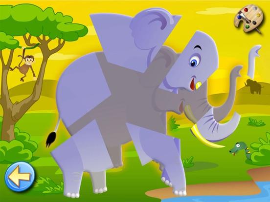 サバンナ:子供のためのパズルとカラー , 知育 ぱずる, 幼児 知育 無料 子ども向け ゲーム 無料のおすすめ画像4