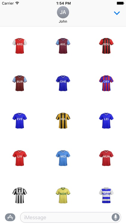 Football Premier Stickers for Fantasy Football
