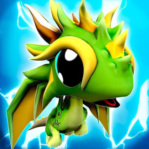 Dragon Town | The Baby Dragons World Racing Sim iOS App