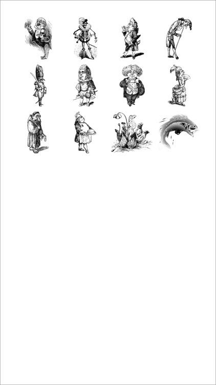 Line Caricature Stickers