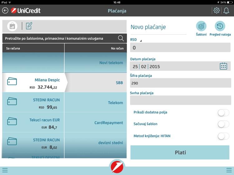 "Mbanking for iPad"" screenshot-3"