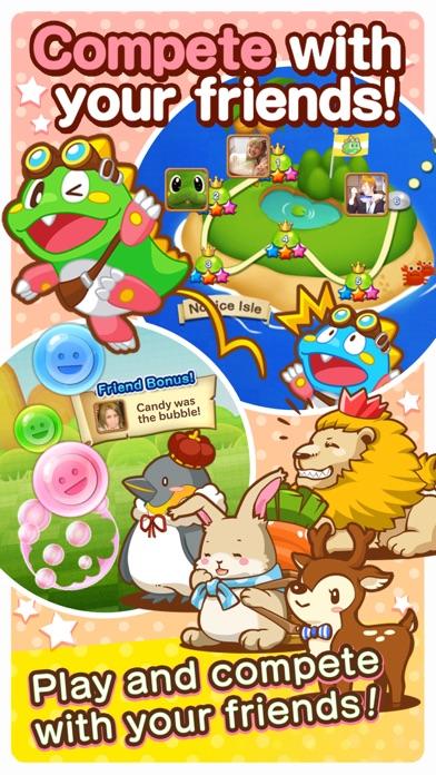 LINE Puzzle Bobble Screenshots