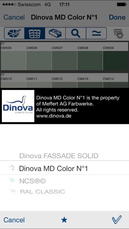 Dinova Farbdesigner screenshot-3