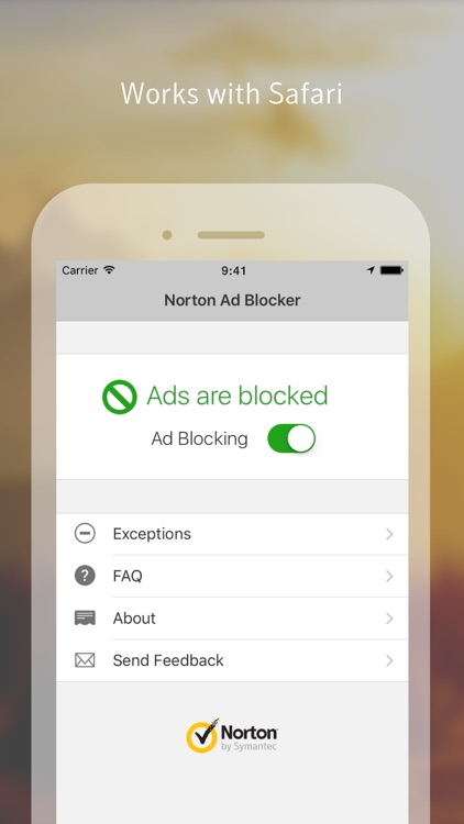 Norton Ad Blocker: Browse faster. Eliminate ads.